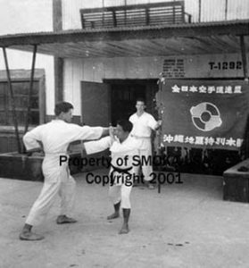 1961_3_Kadena AFB Karate Dojo  under the tutelage of Sensei Kise