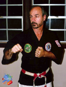 Sensei Coffman fighting pose
