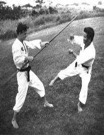 hoffman_13_Weapon fighting with Sensei kise